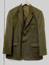 Johnstons of Elgin:Men's Jacket:100% Cashmere:Dark Lovat Green:Size 44:Excellent