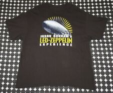Jason Bonham's Led Zeppelin Experience T-Shirt Tour 2015 East Coast 2-Sided Xxl