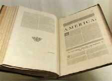 1721, SENEX, New General ATLAS, text + armorials only, america, CHINA, huge work