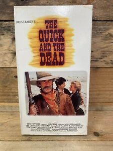 LOUIS L'AMOUR's The Quick and the Dead (VHS, 1995) Starring Sam Elliot