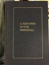 RAYMOND CARVER  signed A NEW PATH TO THE WATER FALL 1ST IN SLIPCASE