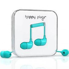 Happy Plugs In-ear Earphones in Turquoise - 7722
