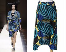 ** JUNYA WATANABE Comme des Garcons ** NWT Drop Crotch African Print Pants M