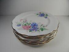 "7 Royal Albert Friendship Sweat Pea Side Plates. 6 1/4"""
