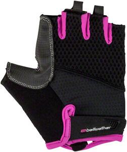 Bellwether Women's Gel Supreme Fingerless Gloves | Fuchsia | L