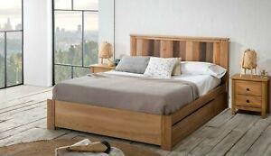 Doppelbett inkl. Lattenrost und Bettkasten 160x200 cm Bett Ehebett