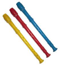 Flöten Flöte Blockflöte 30 cm Kinderflöte Musikinstrument Instrument Bunt
