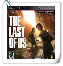 PS3 THE LAST OF US ENG / 最後生還者 中英文合版 SONY PLAYSTATION Action Games SCE