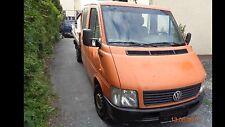 VW LT 28 1 Hand Doppelkabine Pritsche 6 Sitze 131PS Motor + Getriebe Top