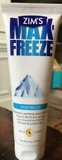 Zims Max Freeze ~ Pro Formula Pain Relief Cold Therapy Extra Strength 4 oz
