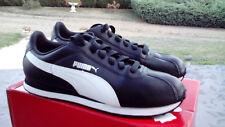 Neuf ! Puma Turin Baskets / Chaussures Homme Noir Blanc T 41 (7,5 UK)