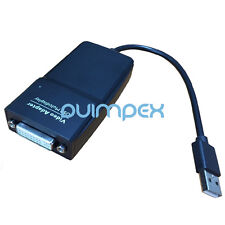 N35 USB 2.0 Display Adapter to DVI 1920x1200 external Graphic card PC Monitor