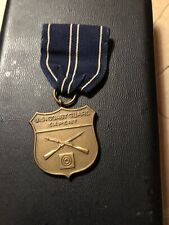 Engraved Coast Gaurd Rifle Expert Medal
