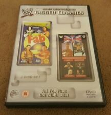 WWE Tagged Classics Fab Four And One Night Only Region 2 WWF RARE