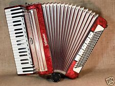 WELTMEISTER GERMAN PIANO ACCORDION 120 BASS BUTTON WORKING ACORDEON ACCORDEON