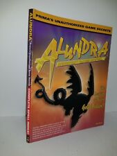Prima's  Alundra  Unauthorized Game Secrets by Brian Boyle Strategy Guide