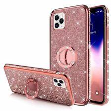 APPLE IPHONE 11 PRO (5.8) Ring Hülle Case Bling Fingerhalter Tasche Handy Rosa