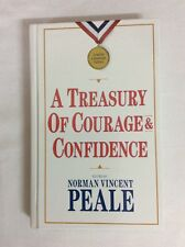 A Treasury Of Courageous & Confidence By Norman Vincent Peale (HC)- LN