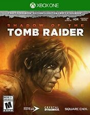 Shadow of the Tomb Raider Croft Steelbook Edition Xbox One - Game Disc