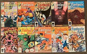 Fantastic Four #265,266,267,268,269,270,271,272,273,274 Marvel Comics 1984 Ser 1