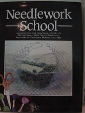 Needlework School: A Comprehensive Guide to Decorative Embroidery HC DJ Book