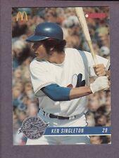 1993 Donruss McDonald's Montreal Expos Ken Singleton #19 25th Anniversary