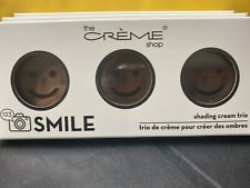 The Crème Shop 123 Smile Palette Contour Shading Creme Trio Medium New