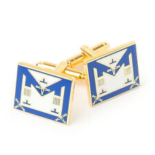 More details for masonic craft provincial lgr apron cufflinks freemasons regalia gift boxed