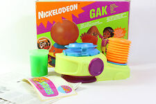 Nickelodeon Gak Splat Inflator Slime BUBBLE PUMP Mattel 1992 Retro Vintage Toy