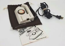Vintage 1984 Norelco Folding Travel Iron Spray Steam Handheld 120/240 With Bag