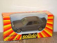 Mercedes 190E 2.3 Saloon van Solido 1352 France in Box *9364