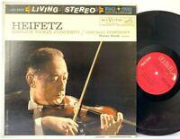 Heifetz Sibelius Violin Concerto Living Stereo LSC-2435 LP Vinyl Record Album