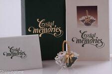 Swarovski Figurine Crystal Memories-Flower basket Gold 171160