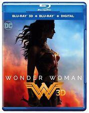 Wonder Woman  ( 3D Blu-Ray / Blu Ray / DIGITAL)   **BRAND NEW**