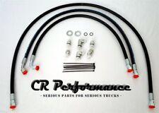 Duramax Transmission Cooler Lines/Hoses 04-05 Chevy/GMC 6.6L w/Allison- LIFETIME