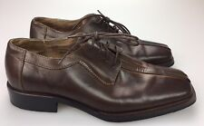 Fratelli Select Men's Brown Casual Oxford Bicycle Toe Dress Shoes Size 9 M