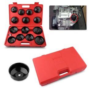 Kit 15 chiavi smonta filtro olio auto chiave a tazza per smontaggio filtri