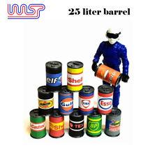 WASP 25 liter oil drums 12 pack, Barrels, track side scenery, pit lane