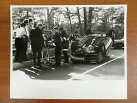 Vtg Glossy Press Photo Natick MA Fire Rescue & Leonard Morse Accident 11/09/91