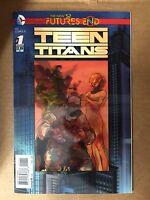 TEEN TITANS FUTURES END #1 3D LENTICULAR COVER FIRST PRINT DC COMICS NEW 52