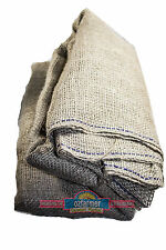 10m X 1.8m 14oz Hessian Sacking Jute Natural Rustic Wedding Party Table Cloth