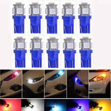10x Blue T10 5 SMD Wedge LED Width Light Door Light Signal Bulb W5W 2825 158 192
