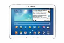 "Samsung Galaxy Tab 3 GT-P5200 16GB Wi-Fi +,4G LTE UNLOCK 10.1"" White Voice Call"