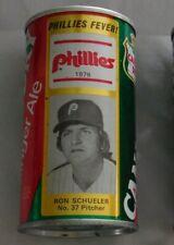 Ron Schueler Philadelphia Phillies 1976 Canada Dry Soda Can Used