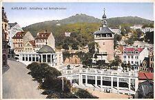 BT2185 schlossberg mit schlossbrunnen Karlsbad karlovy vary  czech republic