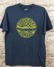 chevrolet Camaro shirt Mens 2XL new tshirt blue top chevy XXL