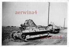 Verlassene franz. Panzer Char leger FCM 36 Sedan Frankreich