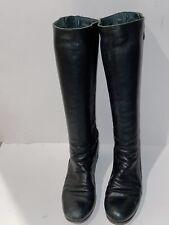 FIORENTINI+BAKER ELF Black Leather Boots Women's 39 US 9