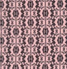 SALE - Free Spirit Fabric Mark Cesarik Spirit MC05 Black/Pink BTY