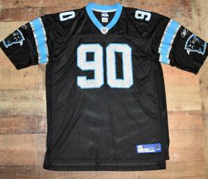 Vintage Reebok NFL Equipment Julius Peppers #90 Carolina Panthers Jersey Sz 2XL